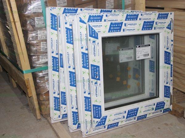 Однокамерные пластиковые окна