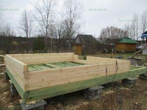 Строительство бани 4 на 5.5 Селижарово, Тверская область фото 1