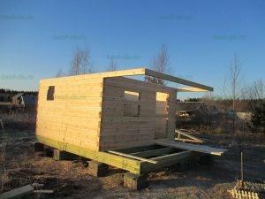 Строительство бани 4 на 5.5 Селижарово, Тверская область фото 2