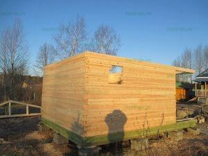 Строительство бани 4 на 5.5 Селижарово, Тверская область фото 3