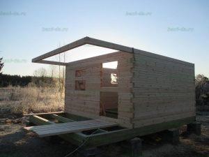 Строительство бани 4 на 5.5 Селижарово, Тверская область фото 5