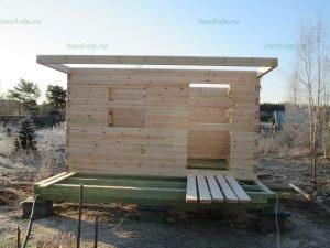 Строительство бани 4 на 5.5 Селижарово, Тверская область фото 6