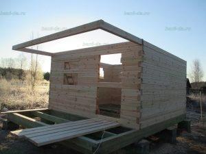 Строительство бани 4 на 5.5 Селижарово, Тверская область фото 7