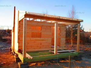 Строительство бани 4 на 5.5 Селижарово, Тверская область фото 11