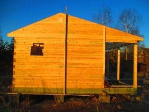 Строительство бани 4 на 5.5 Селижарово, Тверская область фото 12