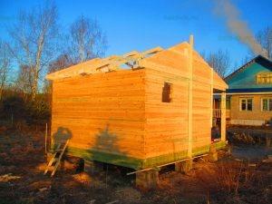 Строительство бани 4 на 5.5 Селижарово, Тверская область фото 13