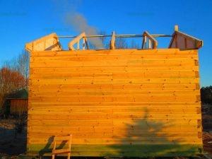 Строительство бани 4 на 5.5 Селижарово, Тверская область фото 14