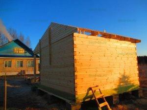 Строительство бани 4 на 5.5 Селижарово, Тверская область фото 15