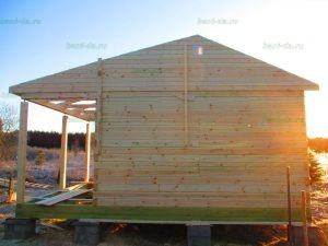Строительство бани 4 на 5.5 Селижарово, Тверская область фото 16