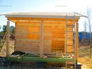 Строительство бани 4 на 5.5 Селижарово, Тверская область фото 18