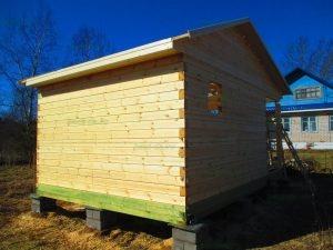 Строительство бани 4 на 5.5 Селижарово, Тверская область фото 23