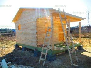 Строительство бани 4 на 5.5 Селижарово, Тверская область фото 25
