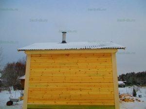 Строительство бани 4 на 5.5 Селижарово, Тверская область фото 51