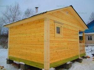 Строительство бани 4 на 5.5 Селижарово, Тверская область фото 52