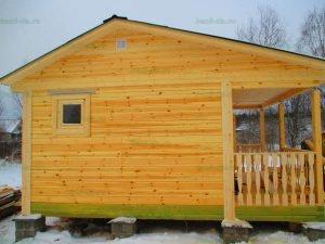 Строительство бани 4 на 5.5 Селижарово, Тверская область фото 53