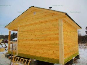 Строительство бани 4 на 5.5 Селижарово, Тверская область фото 54