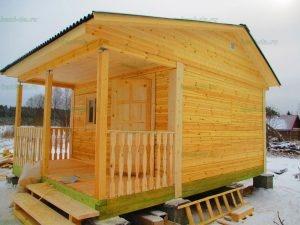 Строительство бани 4 на 5.5 Селижарово, Тверская область фото 55