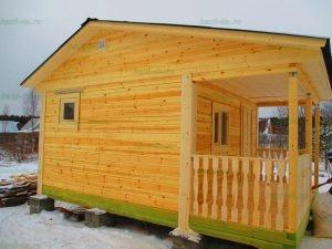 Строительство бани 4 на 5.5 Селижарово, Тверская область фото 56