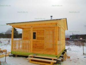 Строительство бани 4 на 5.5 Селижарово, Тверская область фото 57